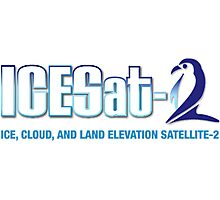 ICESat-2 Logo Optimized for Light Colors Photographic Print