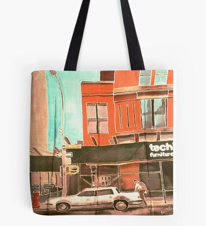 Franklin St Tote Bag