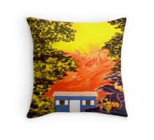 Firegazer Throw Pillow