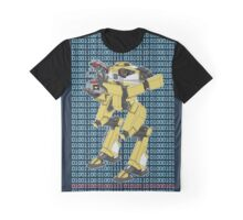Gortys x Loader Bot (Love in Binary) Graphic T-Shirt