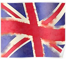 United Kingdom Watercolor Poster