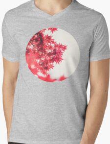 Autumn Leaves Mens V-Neck T-Shirt