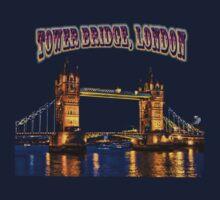 Tower Bridge, London Kids Tee