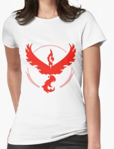 Pokemon GO - Team Valor Womens Fitted T-Shirt