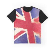 United Kingdom Watercolor Graphic T-Shirt