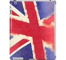 United Kingdom Watercolor iPad Case/Skin