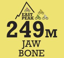 Tour de France, Grand Depart 2014 Souvenir T-Shirt Jaw bone by springwoodbooks