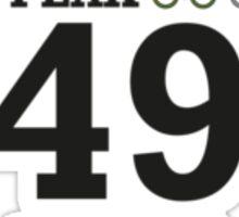 Tour de France, Grand Depart 2014 Souvenir T-Shirt Jaw bone Sticker
