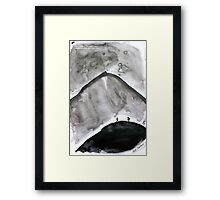 Paper Scrolls (6) Bleak Framed Print