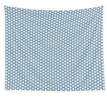 Acrylic Blue Orange Stars Wall Tapestry