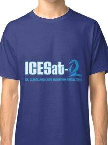 ICESat-2 Logo Optimized for Dark Colors Classic T-Shirt