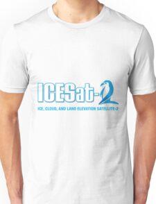 ICESat-2 Logo Optimized for Dark Colors Unisex T-Shirt