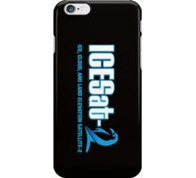 ICESat-2 Logo Optimized for Dark Colors iPhone Case/Skin