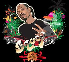 Snoop dogg - plain background by MsShyne