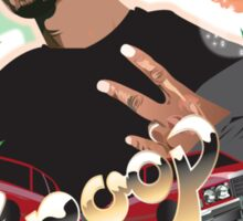 Snoop dogg - plain background Sticker