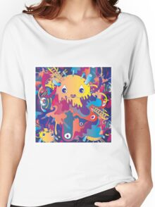 melted egg cream Women's Relaxed Fit T-Shirt