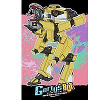 Gortys x Loader Bot (Smashcard) - Pink Photographic Print