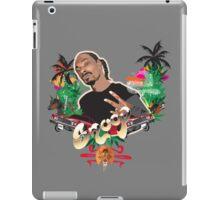 Snoop dogg - plain background iPad Case/Skin