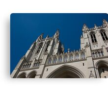 Cathedral detail Canvas Print