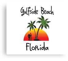 Gulfside Beach Florida Canvas Print