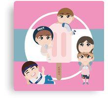 Seventeen - Very Nice - Vocal Unit Canvas Print