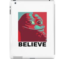 Pepe the Frog - Believe iPad Case/Skin