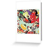 crabby catcher Greeting Card