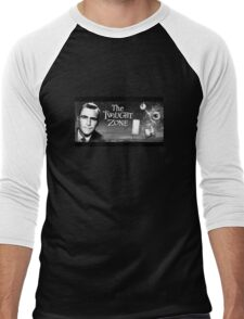 The Twilight Zone Poster Men's Baseball ¾ T-Shirt