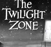 The Twilight Zone Poster Sticker