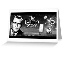 The Twilight Zone Poster Greeting Card