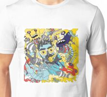 flying underwater Unisex T-Shirt