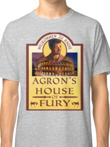 Agron's House of Fury (Spartacus) Classic T-Shirt