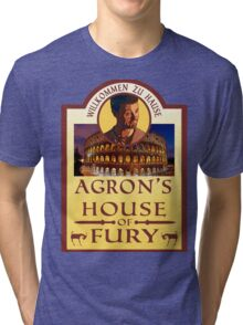Agron's House of Fury (Spartacus) Tri-blend T-Shirt