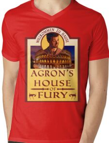 Agron's House of Fury (Spartacus) Mens V-Neck T-Shirt