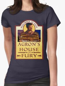 Agron's House of Fury (Spartacus) Womens Fitted T-Shirt