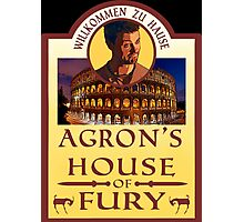 Agron's House of Fury (Spartacus) Photographic Print