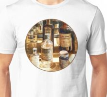 Medicine Bottles in Glass Case T-Shirt