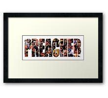 Preacher Framed Print