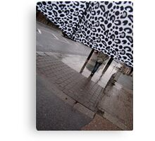 View from Inside a Brolly Canvas Print