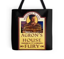 Agron's House of Fury (Spartacus) Tote Bag
