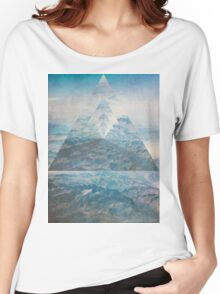 Abstract Sky  Women's Relaxed Fit T-Shirt