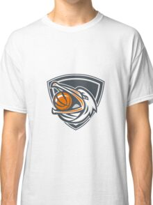 Pelican Basketball In Mouth Shield Retro Classic T-Shirt