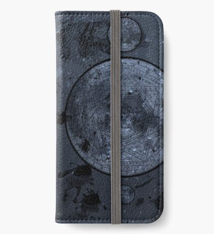 Spell Book -Blue iPhone Wallet/Case/Skin