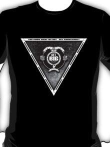 Get Big Pyramid Flip - BLACK T-Shirt