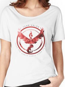 Team Valor pokemon go Women's Relaxed Fit T-Shirt