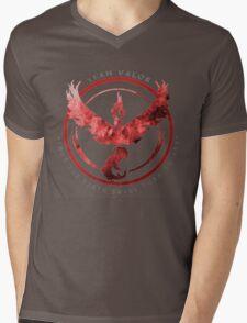 Team Valor pokemon go Mens V-Neck T-Shirt
