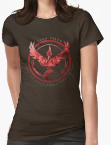 Team Valor pokemon go Womens Fitted T-Shirt