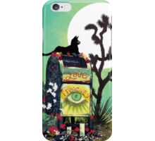 Mailbox Cat iPhone Case/Skin