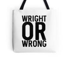Wright Tote Bag