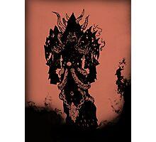 Warcraft: Warlock Hellfire Photographic Print